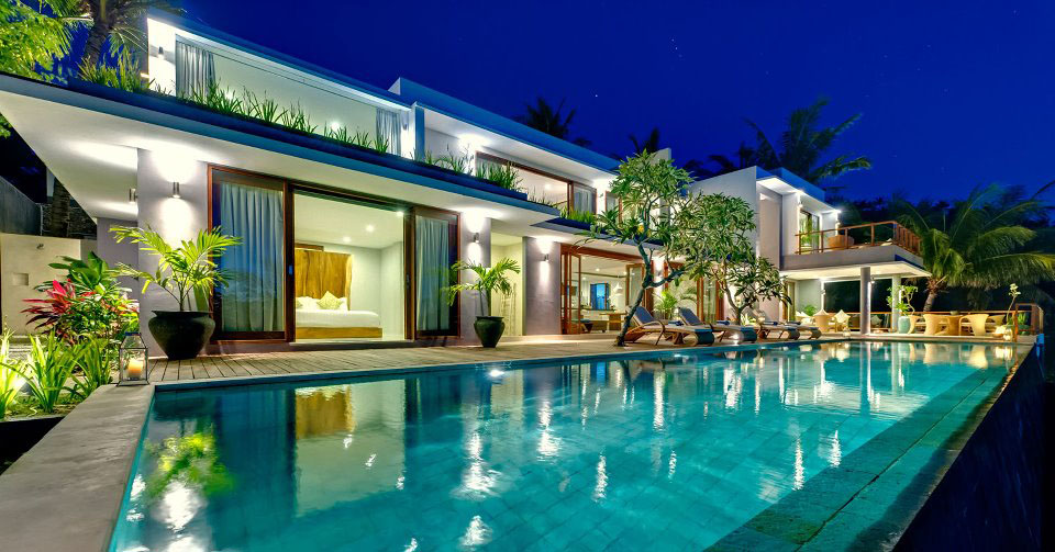 Contemporary Tropical Hillside Villa In Indonesia : iDesignArch : Interior Design, Architecture ...