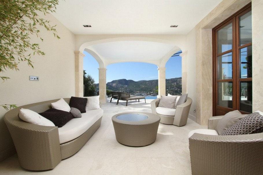 Mediterranean Luxury Villa In Mallorca  iDesignArch  Interior Design ...