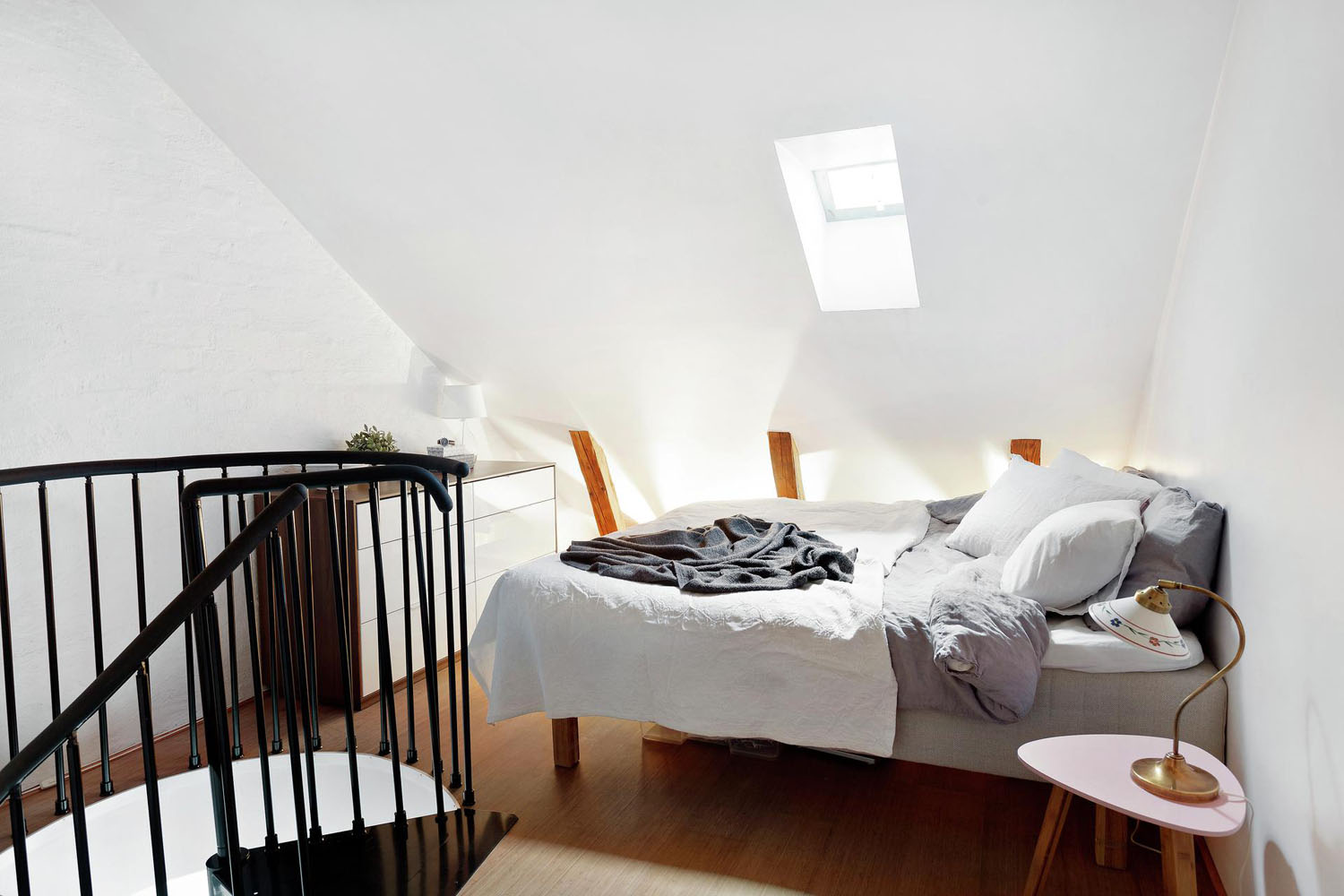 Attic Loft Bedroom