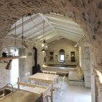 Historical Stone Building In Greece Transformed Into Contemporary Rustic Villa