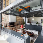 Contemporary Refurbished Farmhouse In A Small French Village