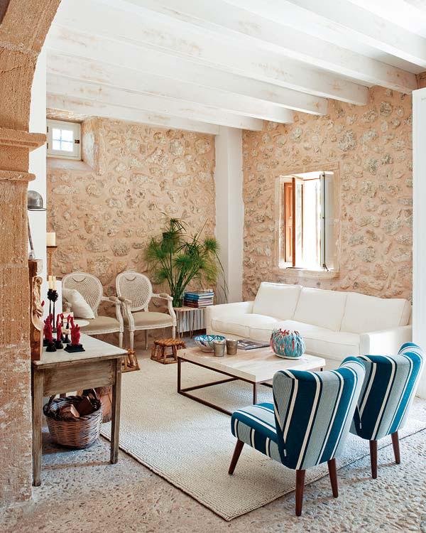 mediterranean country villa | idesignarch | interior design