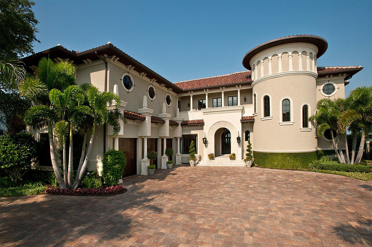Mediterranean revival residential architecture for Mediterranean modular homes