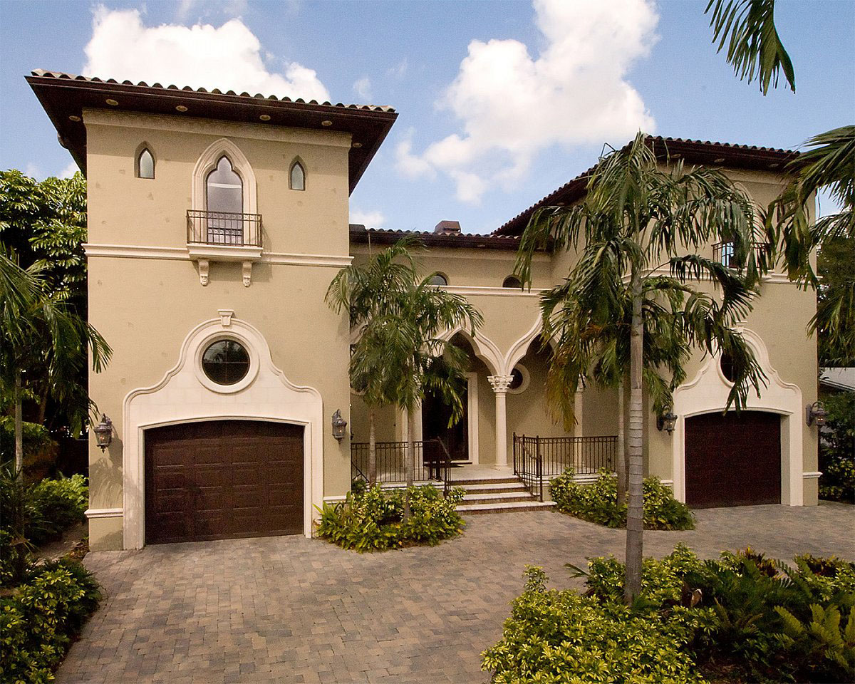 Mediterranean revival residential architecture for Prefab mediterranean style homes