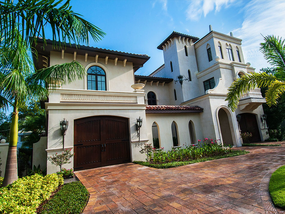 Mediterranean revival residential architecture for Modern spanish style homes