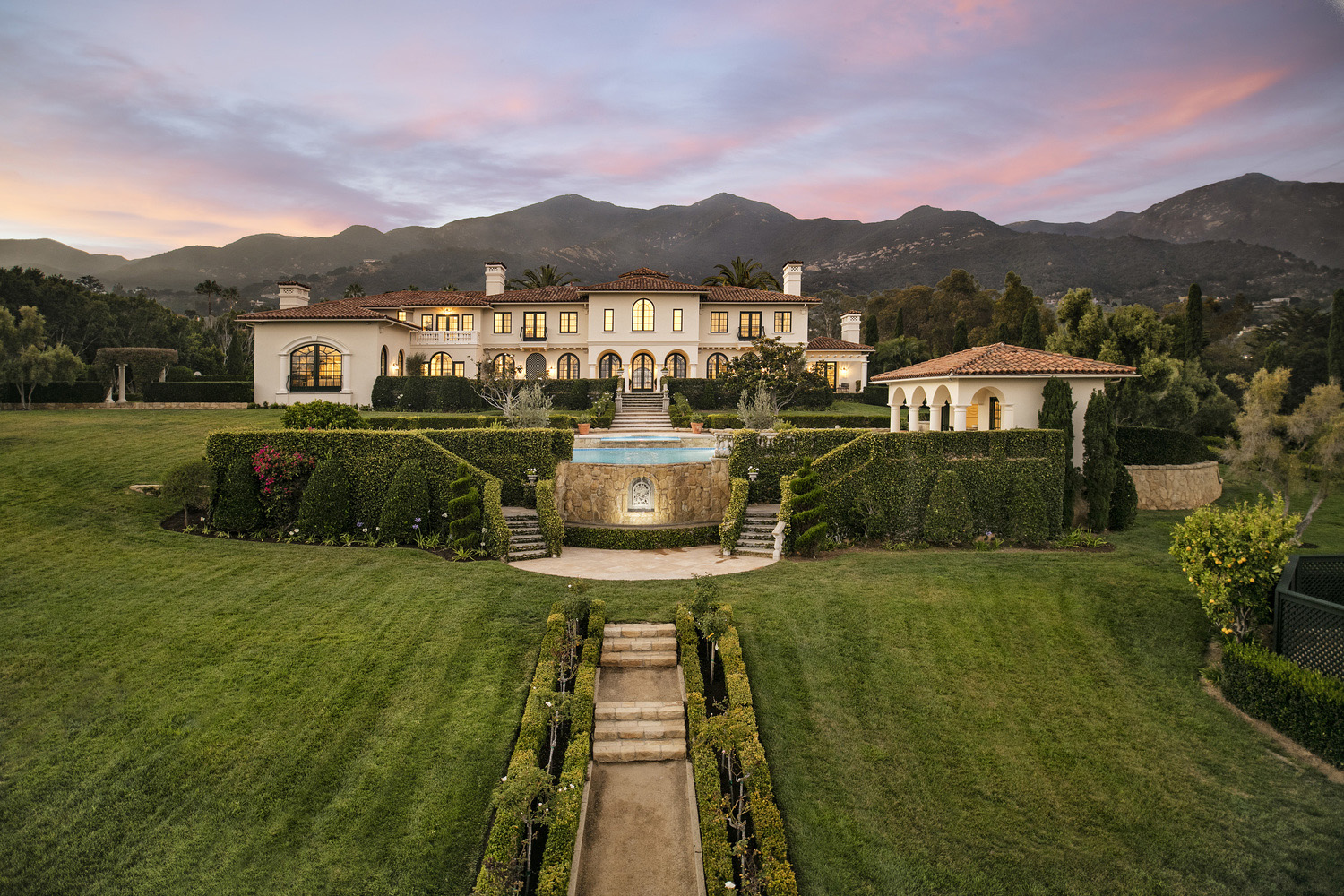 Timeless Classic Mediterranean Style Mansion