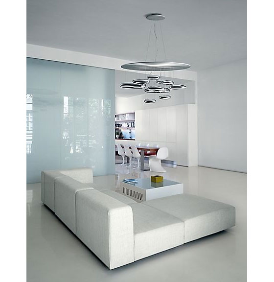 Mercury Ceiling Suspension By Artemide  iDesignArch  Interior Design ...