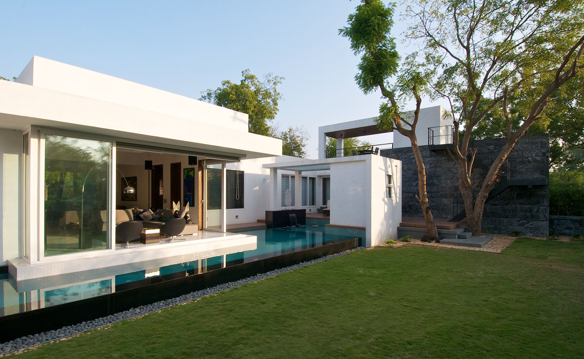 Minimalist bungalow in india idesignarch interior for Home architectures