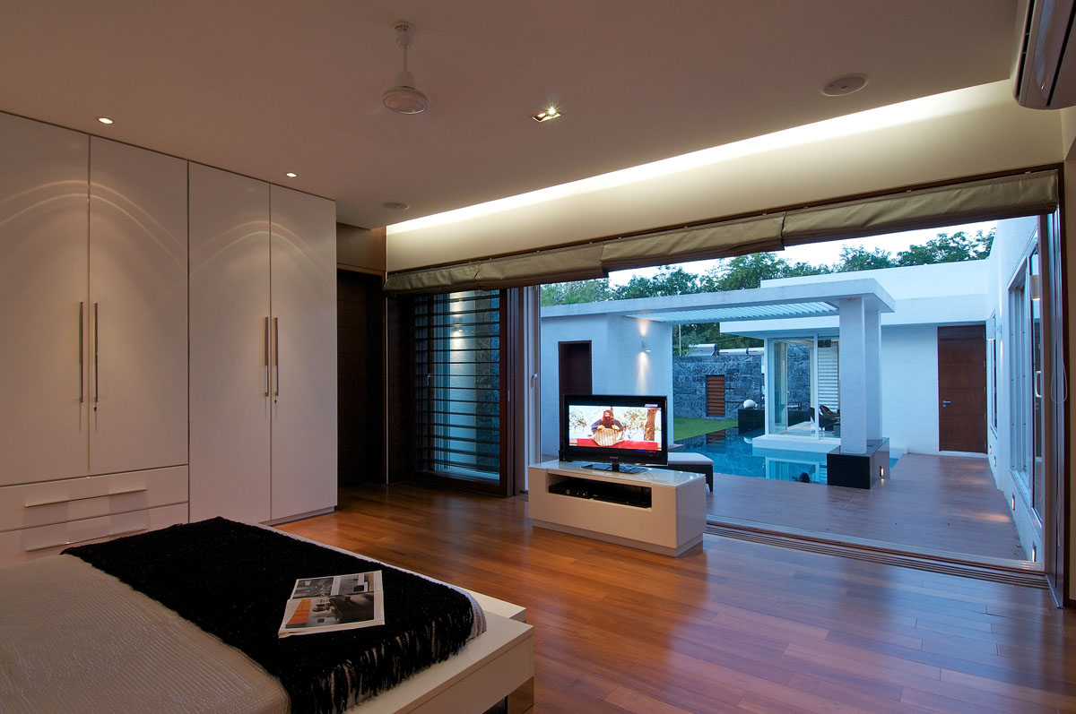 Minimalist bungalow in india idesignarch interior - Modern house interior design ...