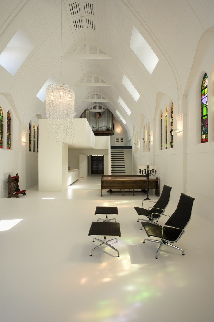 Minimalist Church Conversion Home