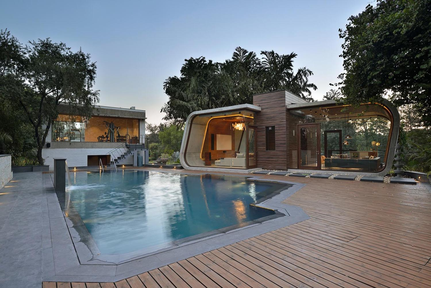 Minimalist Pool House3 IDesignArch Interior Design