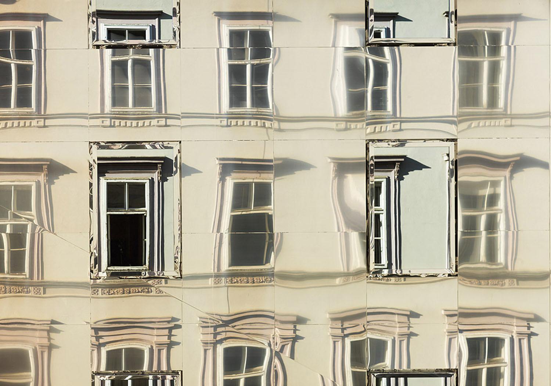 Neo Renaissance House With Mirror Effect Fa Ade Idesignarch Interior Design Architecture