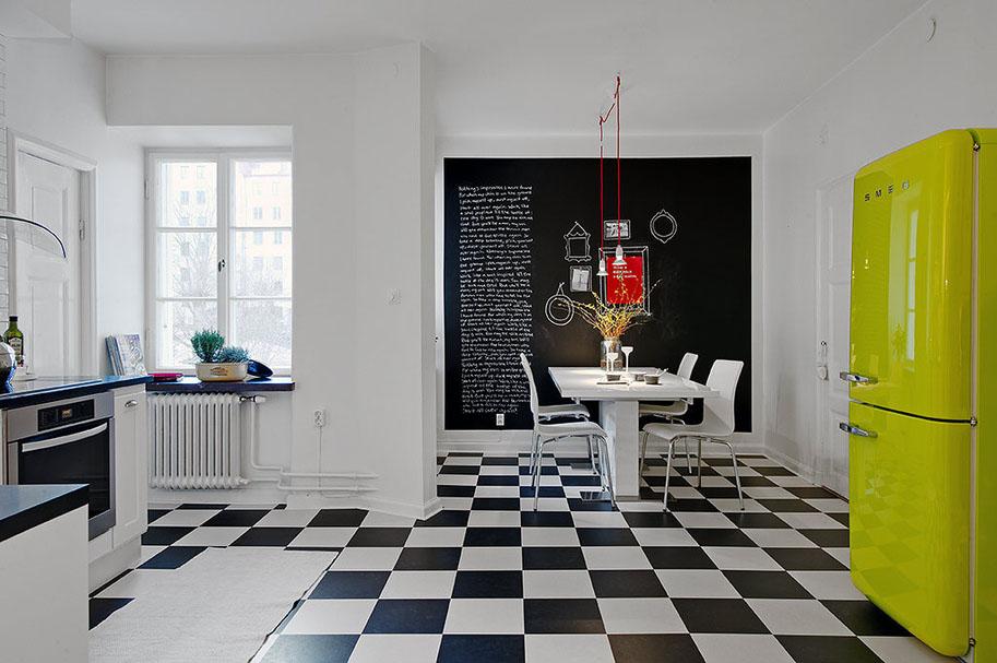 Dream Kitchens Modern modern refurbished apartment with dream kitchen   idesignarch