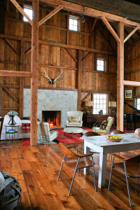 Rustic Country Barn House