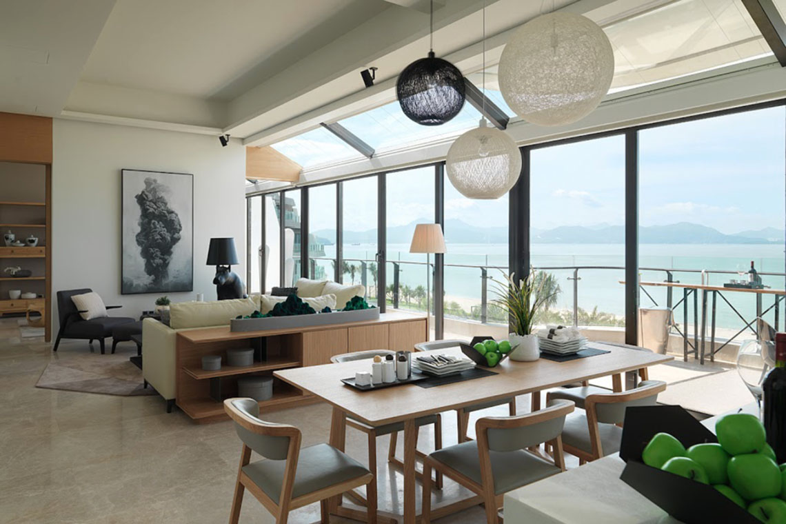 Stylish Modern Apartment In Southern China With Mountain And Sea Views Idesignarch Interior