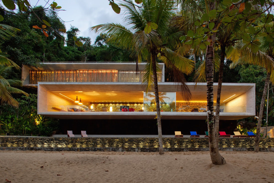 Modern Beach House On The Brazilian Coast iDesignArch Interior