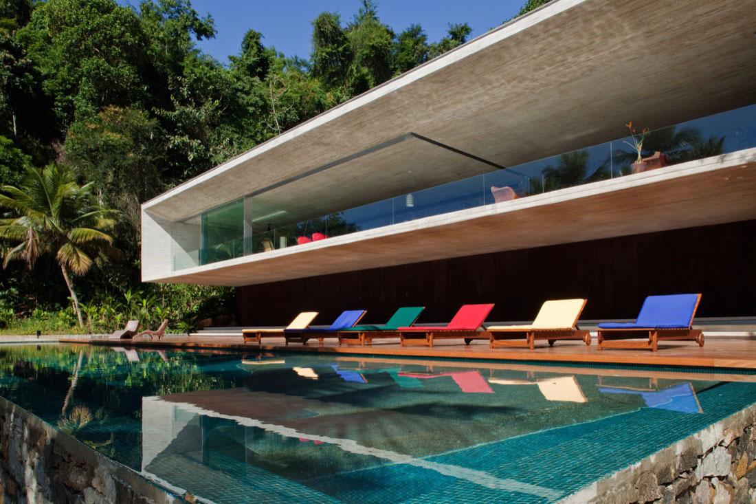 Modern Beach House Modern Beach House On The Brazilian Coast  Idesignarch  Interior