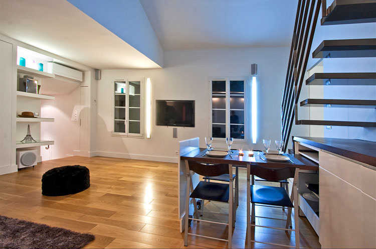 Modern Duplex Apartment Design In Paris IDesignArch Interior