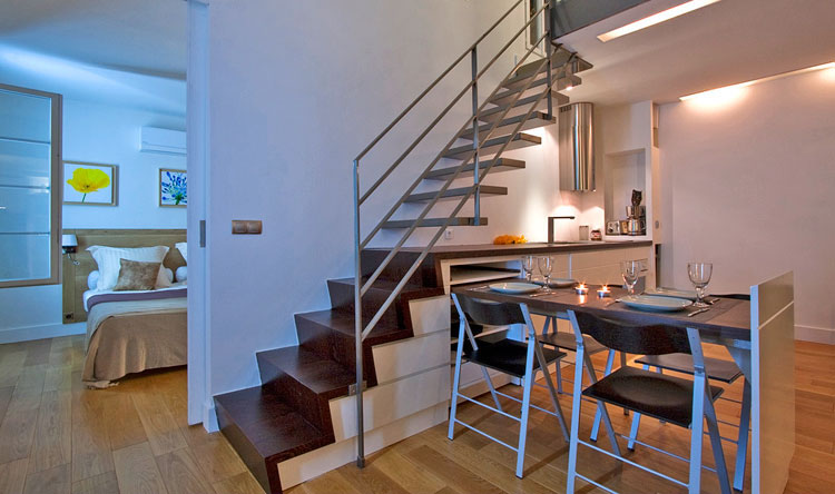 Modern Duplex Apartment Design In Paris | iDesignArch | Interior ...