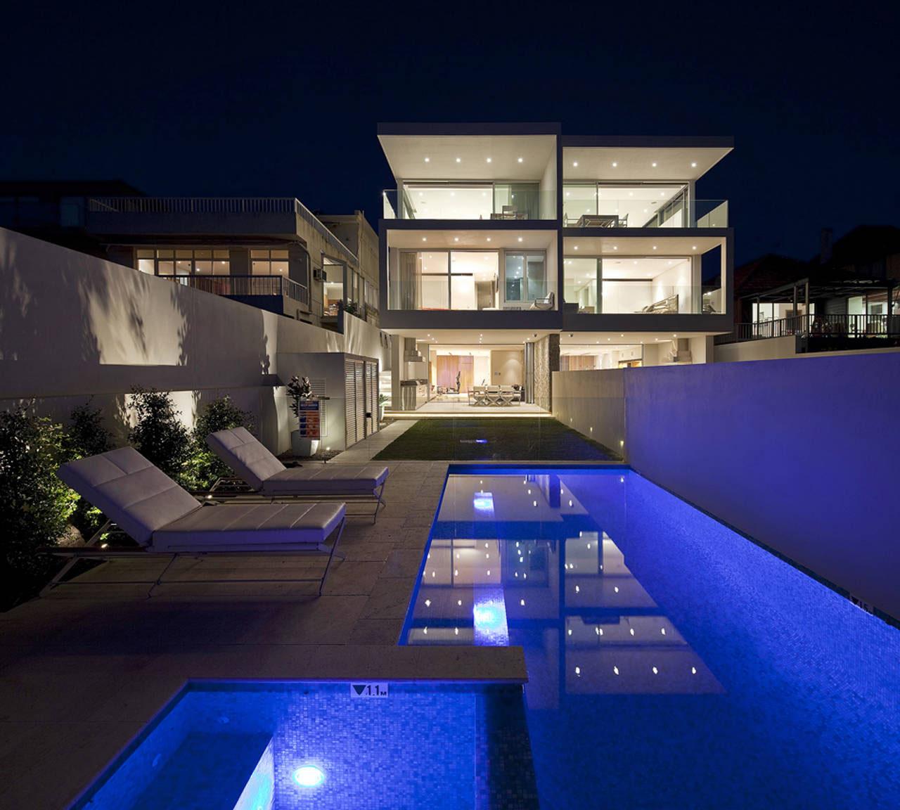 Modern Duplex Views Sydney Harbour Huntto