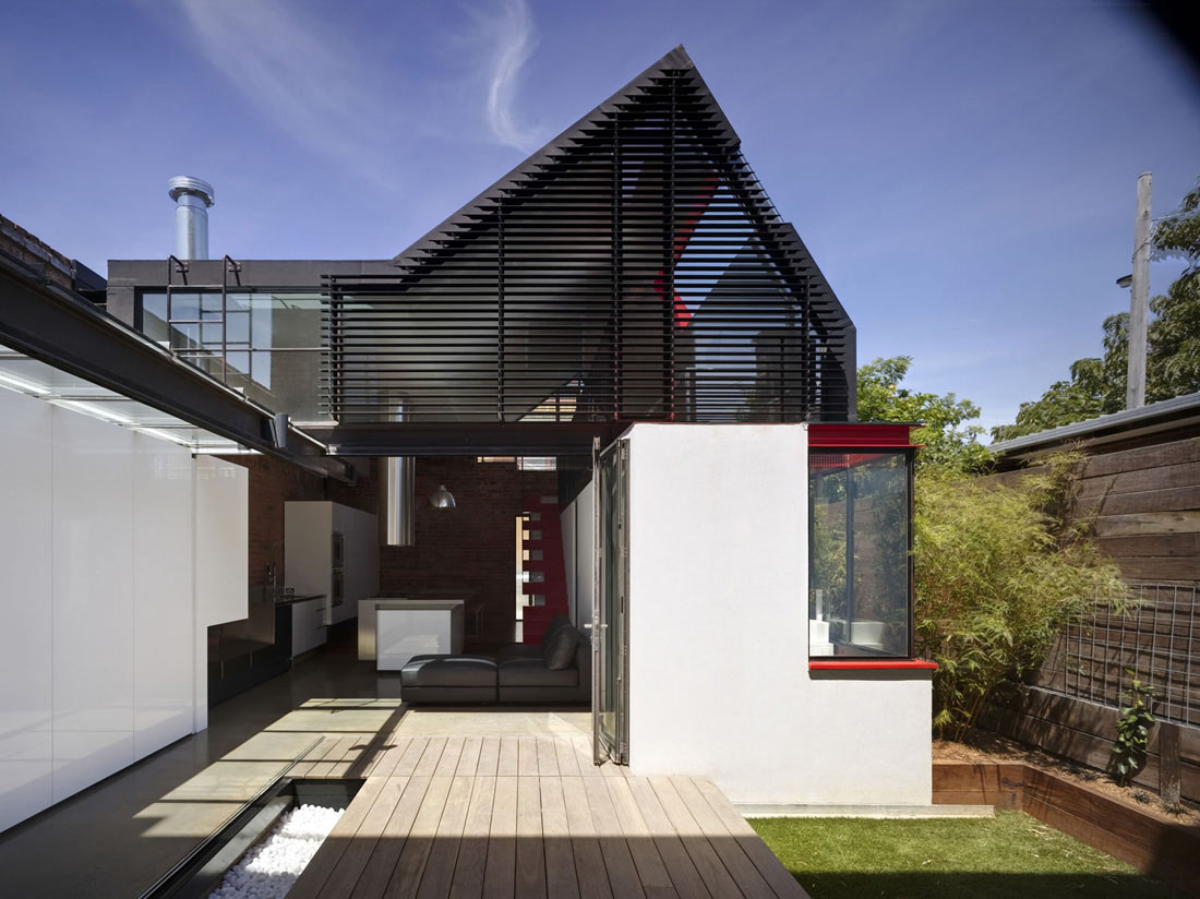 Extension to a victorian terrace in the inner city idesignarch interior design architecture - Modern houses terrace ...