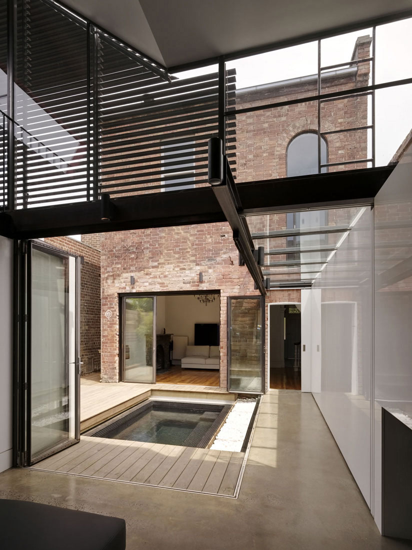 Extension to a victorian terrace in the inner city for Extension moderne