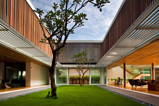 Modern Home Architecture Design In Singapore
