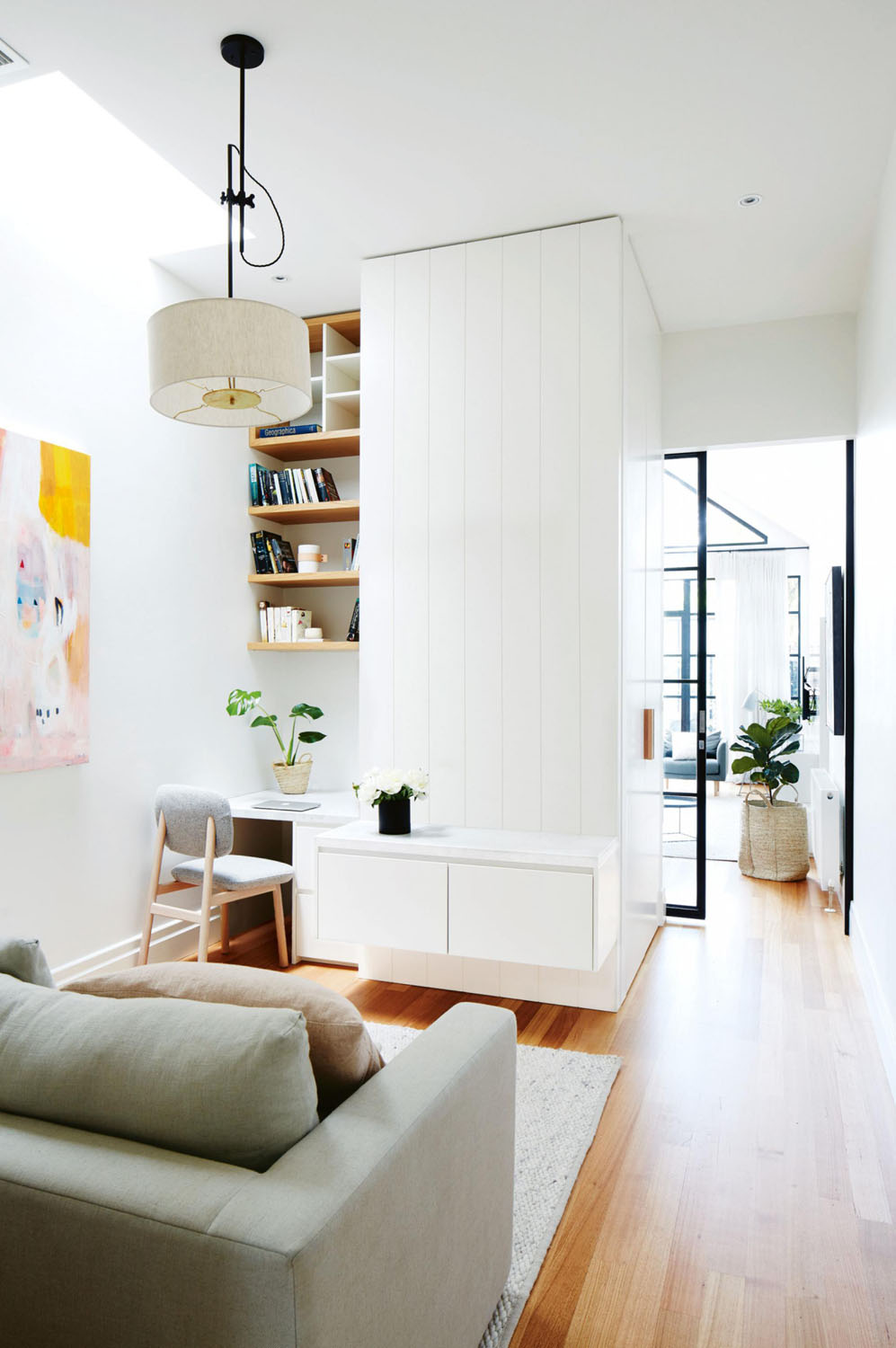 modern makeover of a victorian era terrace house in melbourne photography by armelle habib