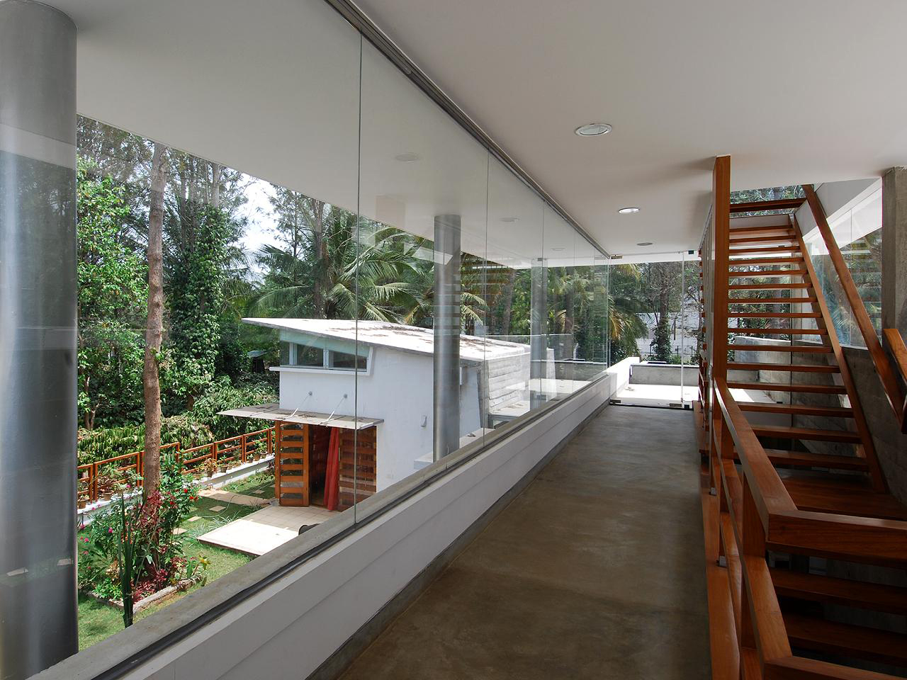 Modern open concept house in bangalore idesignarch for Concept home builders