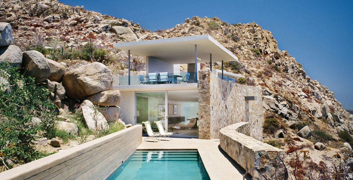 Modern house with breathtaking ocean view in cabo san lucas idesignarch interior design Home architecture in mexico