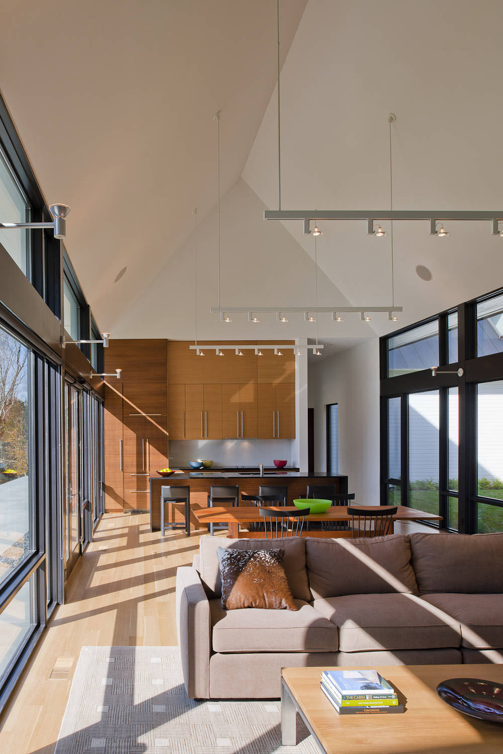 Modern house in virginia countryside idesignarch - Modern house interior design ...