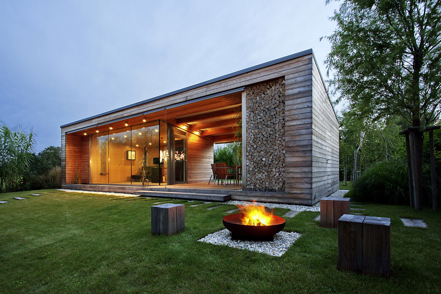 Environmentally Friendly Modern Retreat