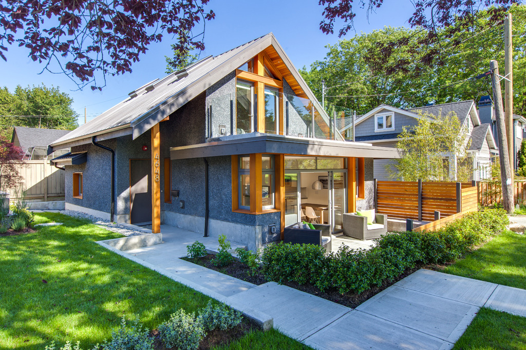 Stylish Modern Small House In Vancouver Lanefab Design Constructed