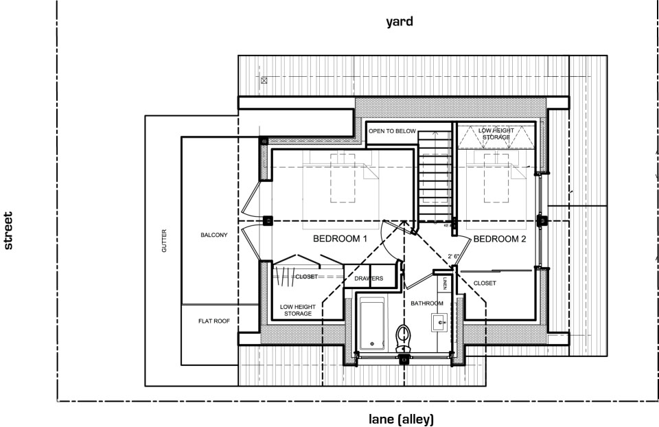 Modern Laneway House With Attractive And Smart Design – Laneway House Floor Plans