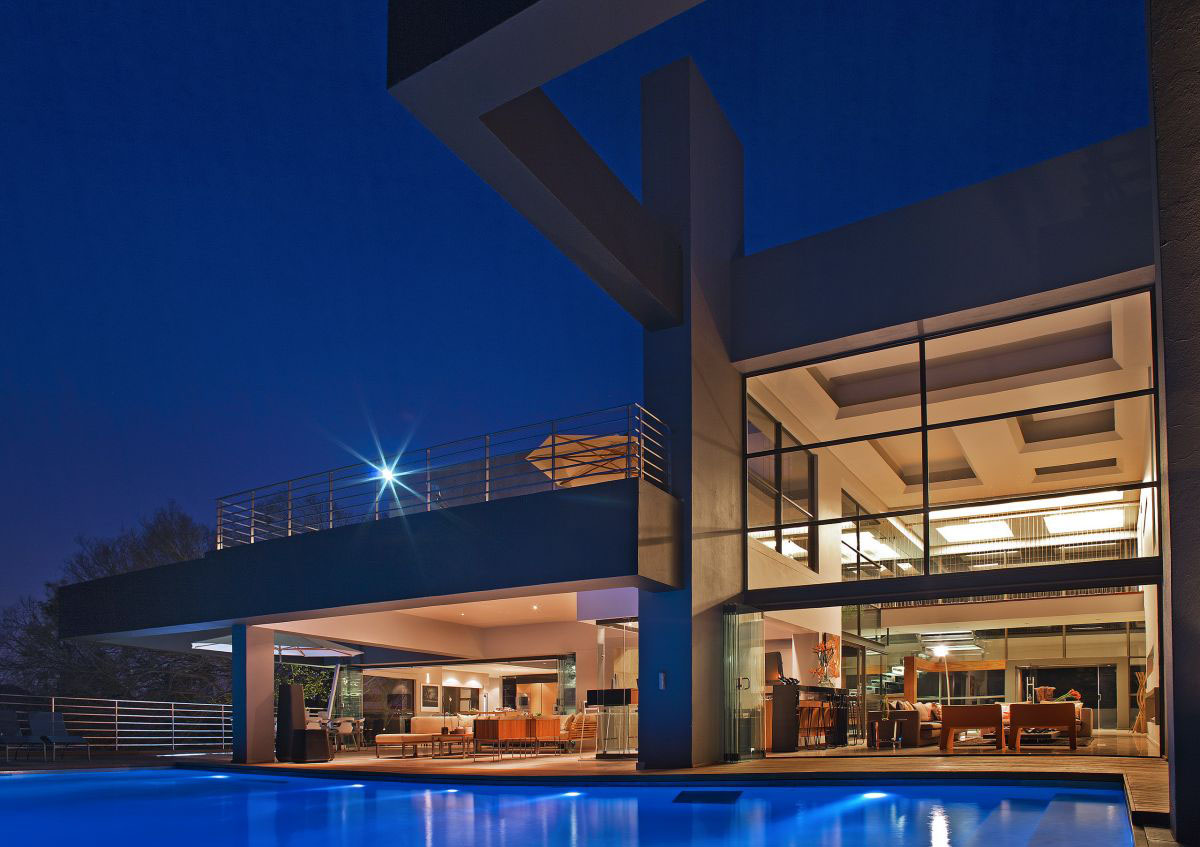 modern luxury home in johannesburg - Inside Modern Luxury Homes