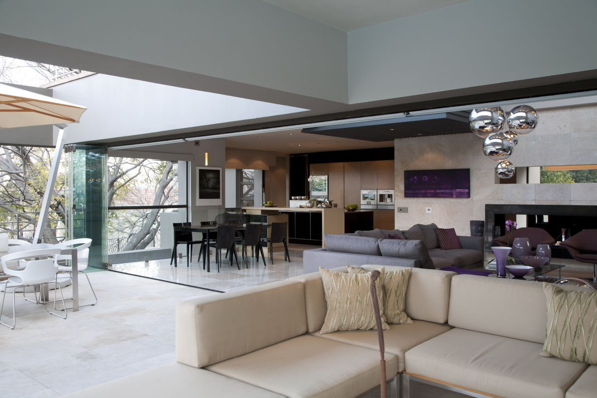 Modern luxury home in johannesburg idesignarch for Maison decoration interieur moderne villas