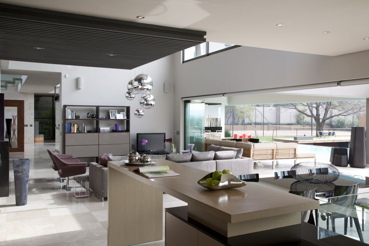 Modern luxury home in johannesburg idesignarch for Modern interior designs for small houses
