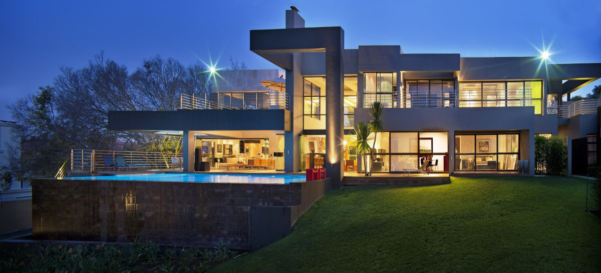 Modern Luxury Home Plans modern luxury home in johannesburg | idesignarch | interior design