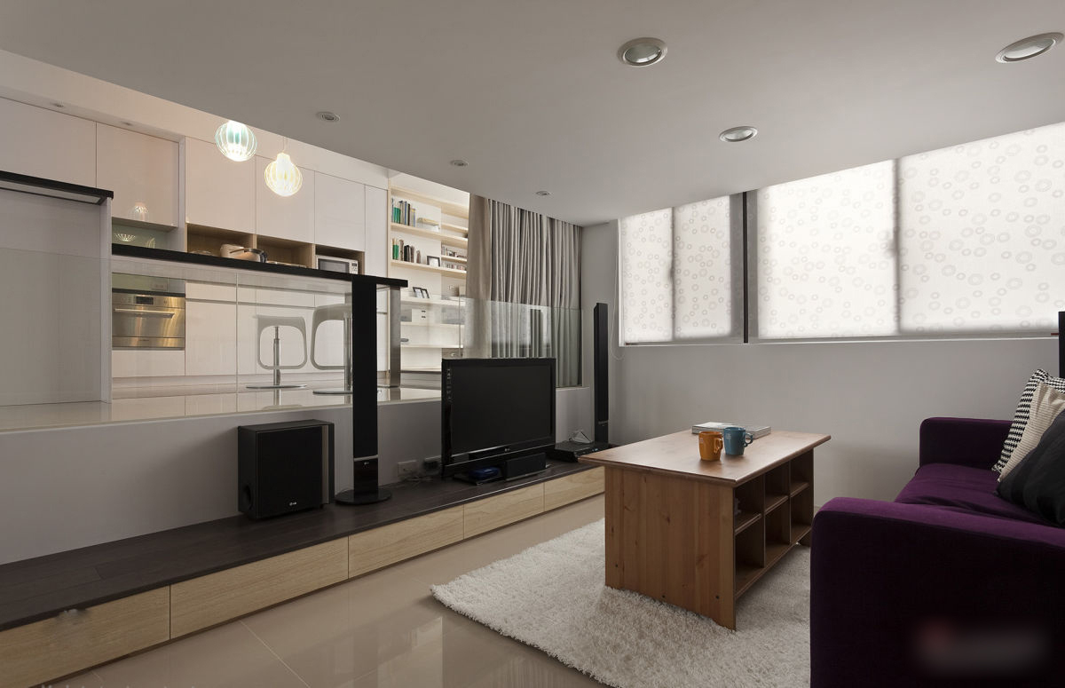 Small modern apartment design