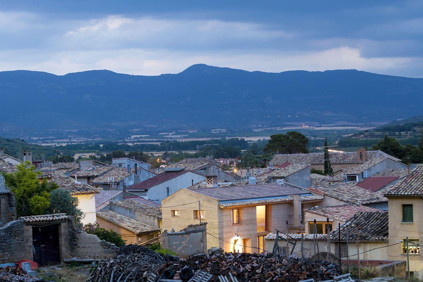 Ayerbe Spain Pyrenees