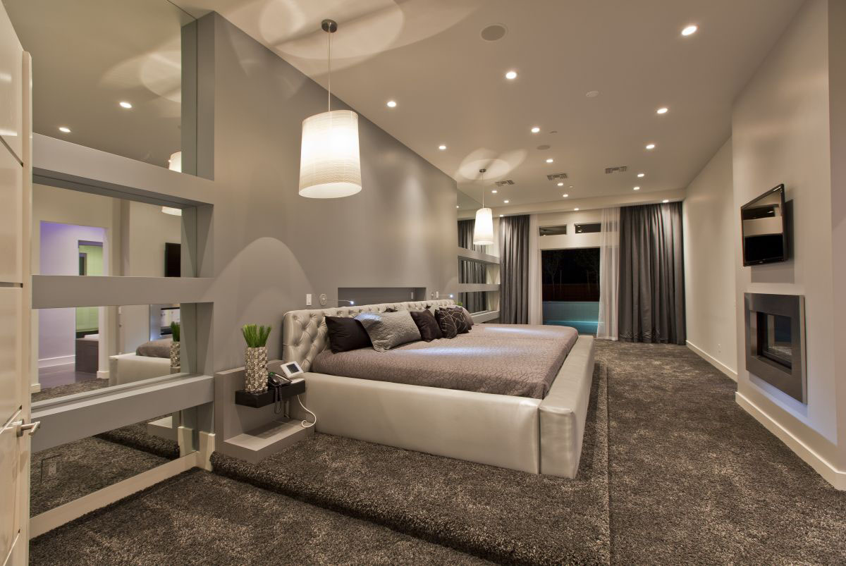 Modern upscale home in las vegas idesignarch interior for Modern contemporary interior design ideas
