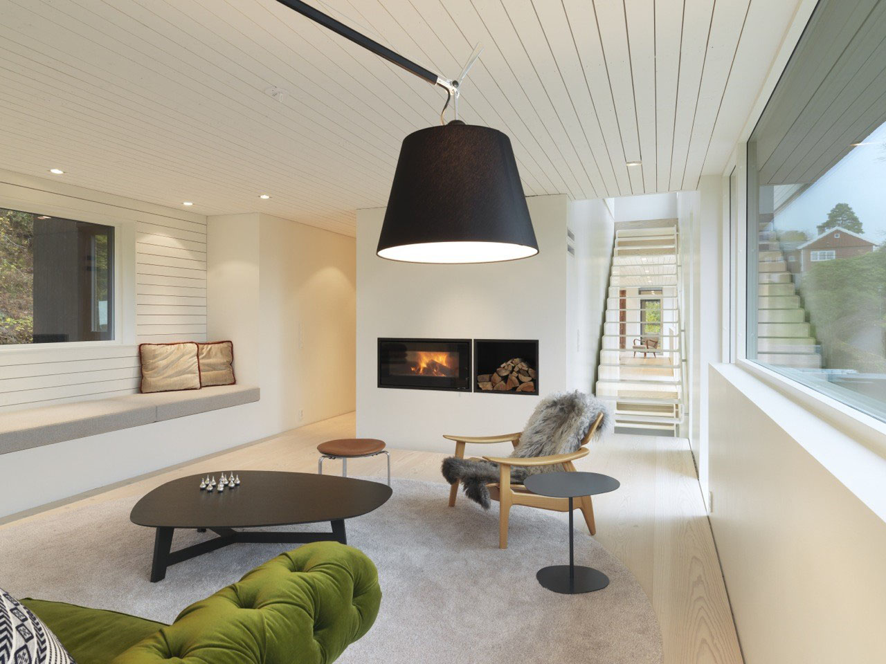 Modern suburban villa in norway idesignarch interior - Modern house interior design ...