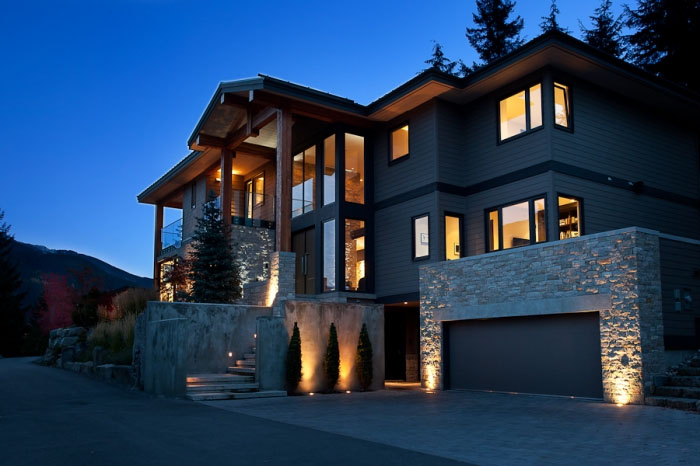 Modern chalet in whistler idesignarch interior design for Style at home canada