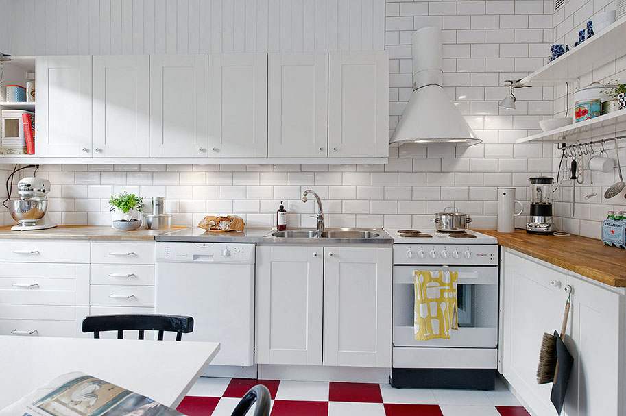 White Modern Dream Kitchen Designs | Huntto.com