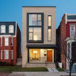 Modernist Urban Row House in Richmond's Historic District