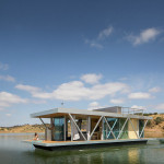 Eco-Conscious Modular Floating Vacation House