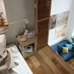 Small Studio Apartment In Moscow With Loft Bedroom