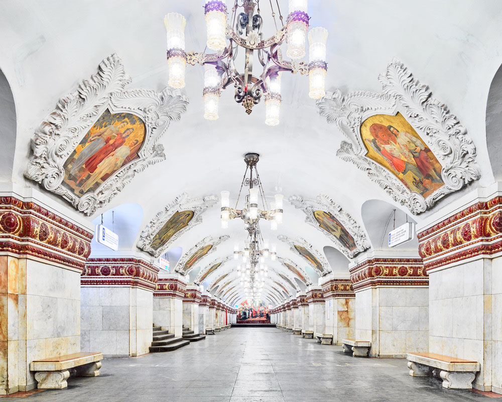 Experience Moscow S History And Architecture Through Its Palatial Metro Stations Idesignarch