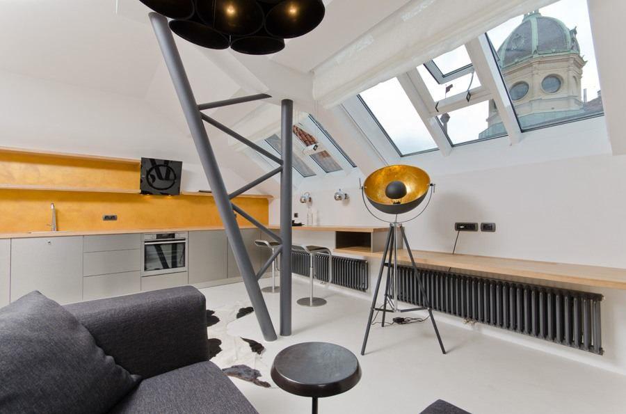 Modern Loft in Prague Czech Republic