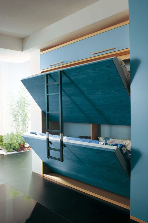 cool murphy bed design - photo #17